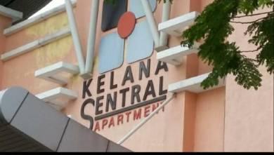 Parking Lot at Kelana Sentral Apartment