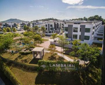 FREEHOLD 3 Storey Semi Detached House Lambaian Residence Bangi