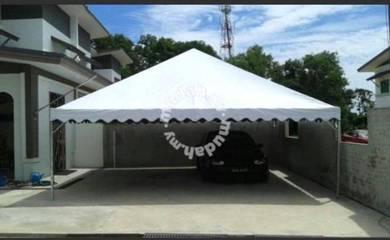 Canopy dan khemah 10X10 Piramid