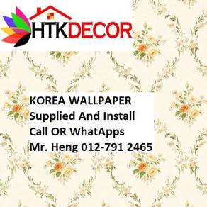 Classic Wallpaper with installation hgj45