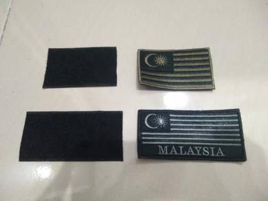 Tactical Malaysia Flag Patch