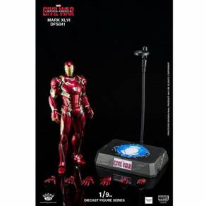King Arts 1/9 Diecast Figure DFS041 Iron Man MK46