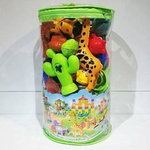 Lego toys animals permainan kanak2