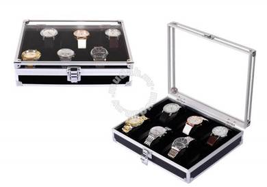 Premium Aluminium Watch Display & Storage Box Case