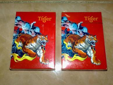 Terup collectible tiger playing cards