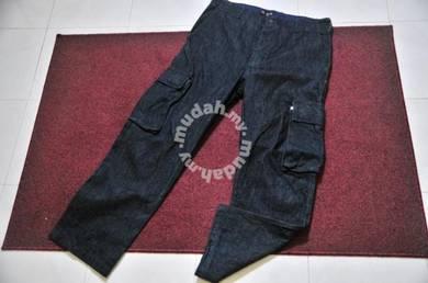 X LARGE DENIM KARGO PANT size 34