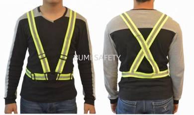 Safety vest elastic