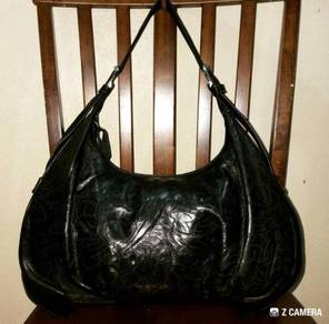 Hobo Bag Leather Unbrand