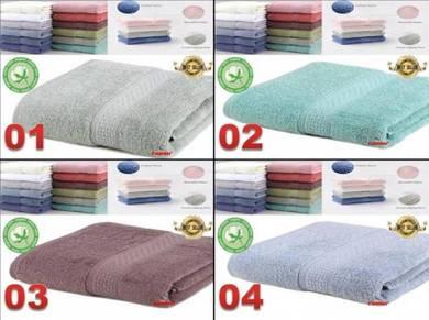 Bath Towel -100% Cotton Tuala Murah harga Borong