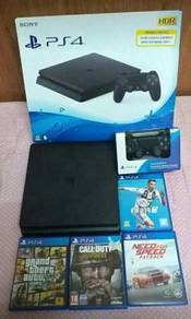 Ps4 slim 500gb combo 4 games
