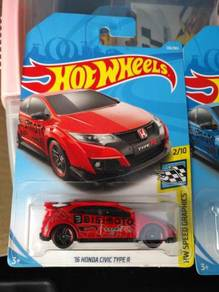 HotWheels Civic Type R Red