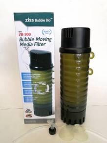 Ziss Bubble Fluidized Bio Aquarium Water Filter