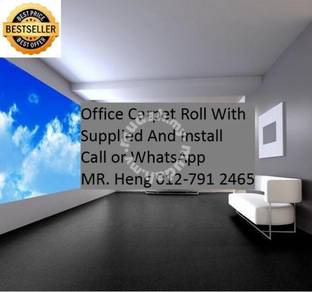Plain Design Carpet Roll - with install LC81