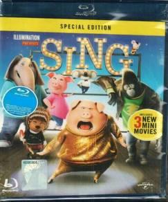 Blu-ray Sing 3 New Mini Movies