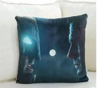 Batman superman pillow