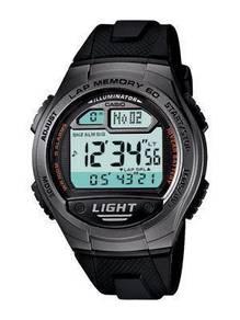 Watch- Casio Lap Time Distance W734-1A -ORIGINAL