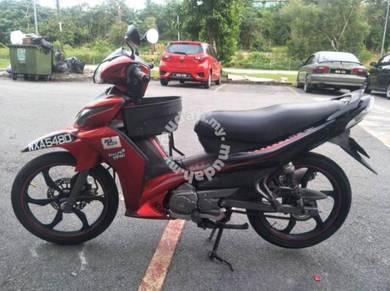 Yamaha Lagenda 115Z Boleh Datang Cuba Dulu