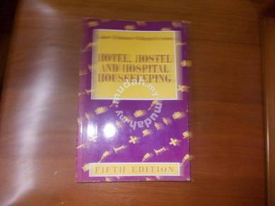Hotel and Hospital Housekeeping