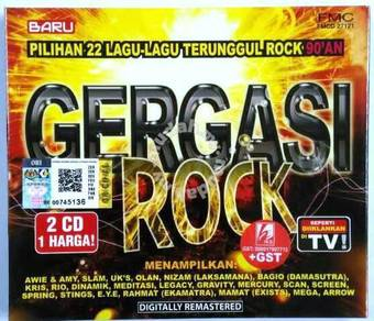 CD Gergasi Rock 90an Awie & Amy Slam UKs Olan