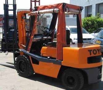 Japan Imported Recon Toyota 3Tons Diesel Forklift