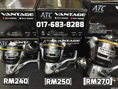 ATC VANTAGE SW 2000 ~ 8000 Fishing Reel Pancing