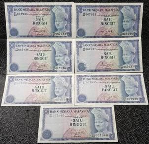 Malaysia farewell of the 3rd series 1 Dollar