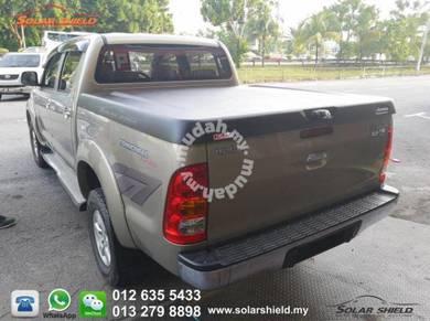 Toyota Hilux Revo Aeroklas Deck Cover 45 degree