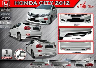 Honda city 08 13 AM Bodykit body kit skirt spoiler