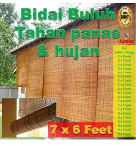 BAMBOO BLINDS / BIDAI BULUH 7 x 6 kaki