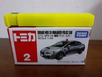 EEQ tomica subaru wrx S4 not hot wheels