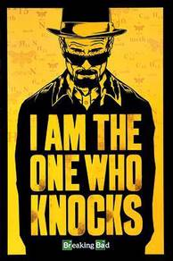 Poster BREAKING BAD KNOCKS