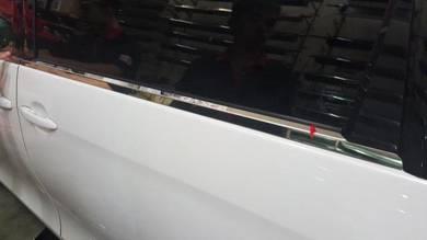 Estima acr50 door belt window chrome moulding