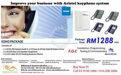 PABX Keyphone System - Aristel Soho AV20 208