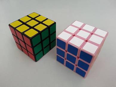 Rubiks Cube 3x3x3 Pink Couple Set