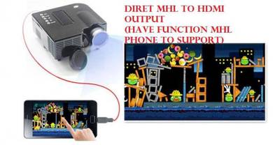 Projector usb player v hdmi vga free test 1week