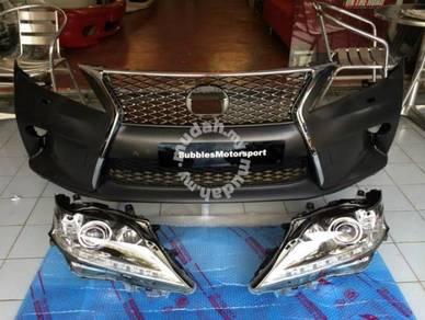 Lexus RX350 facelift oem front set conversion