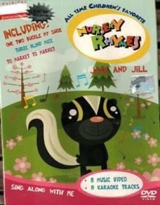 DVD Nursery Rhymes Jack And Jill