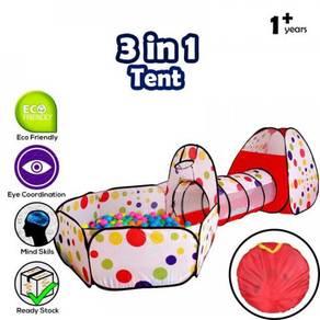 Foldable pop up kids tent / kids playground 01