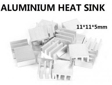 Heat Sink aluminium 11*11*5 mm diy project