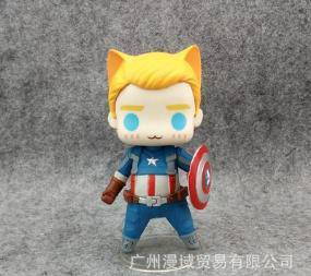Captain america cute toy