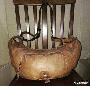 Hobo/ Shoulder Bag Leather C'omodo +plus t