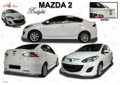 Mazda 2 Sedan 2009 AM Bodykit body kit skirt lip
