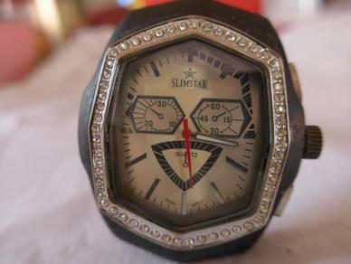 Slimstar Quartz Oval Rectangular Watch