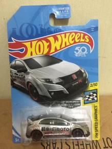 Hotwheels Zamac Honda Civic Fk8 Type R