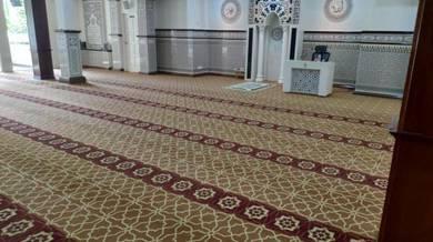 Carpet Tiles | Karpet Masjid Surau Dewan Pejabat