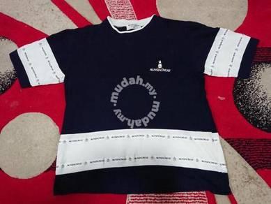 Vintage munsingwear t shirt colour block size m