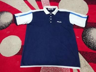 Vintage fila polos shirt size m