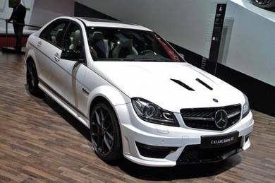 Mercedes benz W204 AMG C63 Edition 507 Bodykit