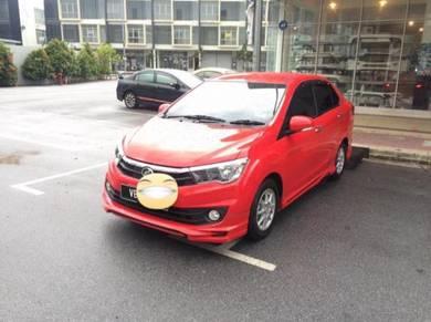 Perodua bezza strom bodykit w paint body kit
