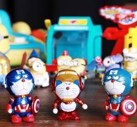 Doraemon captain america